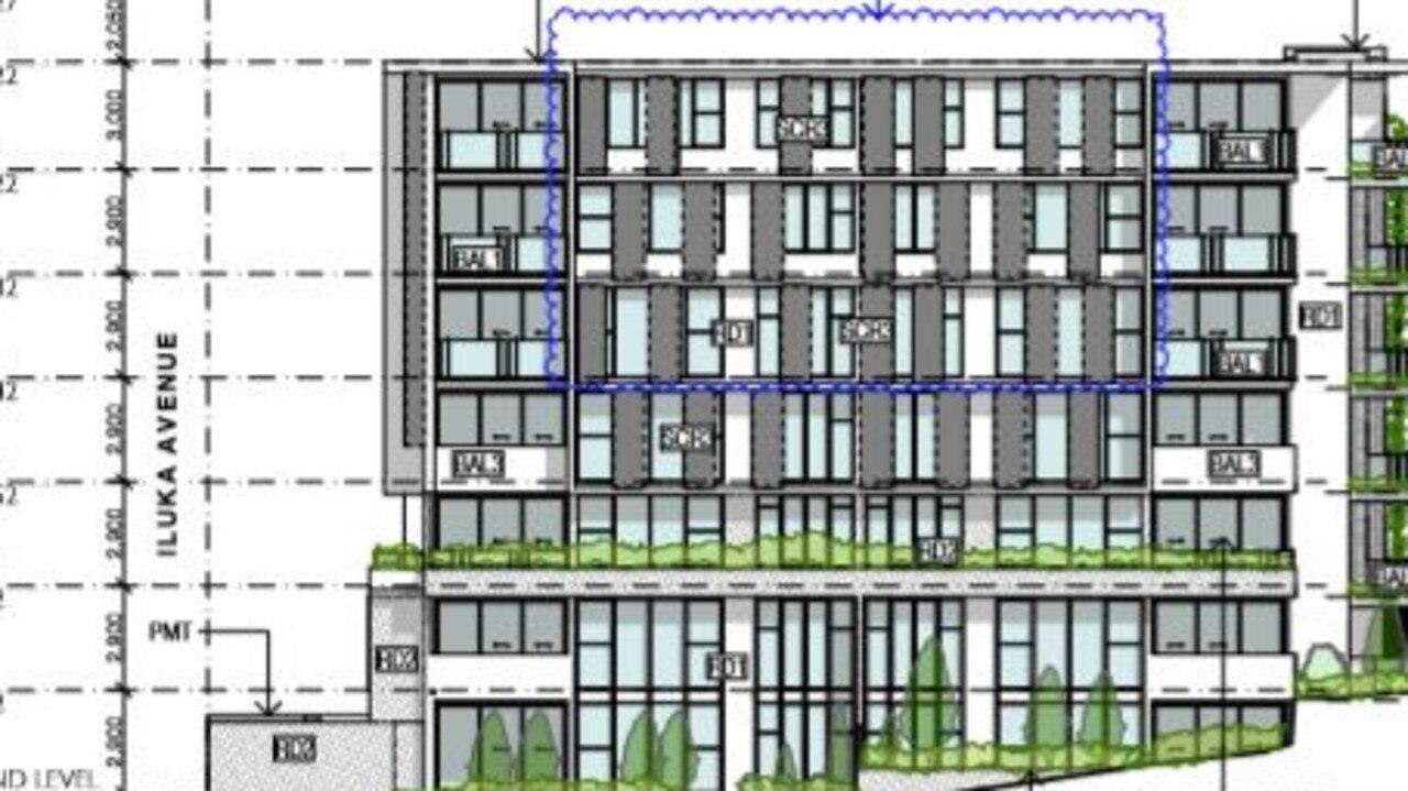 Plans for Pacific Diamond 88's 73-apartment development at Buddina Beach.
