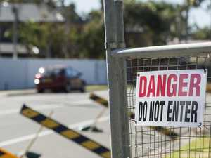 Beachfront homes on brink of collapse