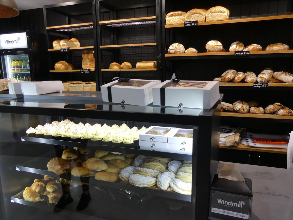 Windmill offers a wide range of delicious baked goods, including Mr Evangelista's famous 24hr sourdough bread. Photo: Holly Cormack.