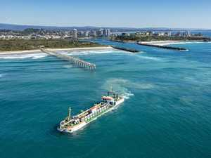 River dredging helps fishers, boaties, surfers