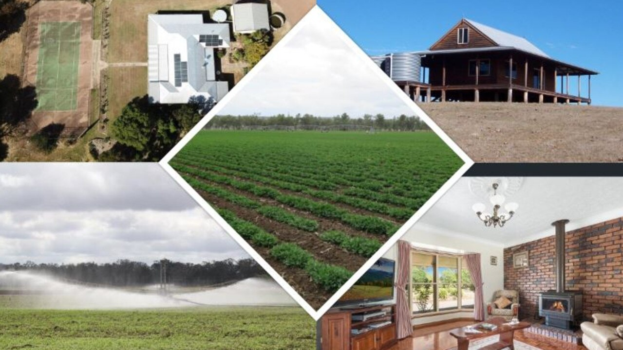 From luxury homes to agricultural land, these five properties are currently on the market. (Picture: Real Estate.com)