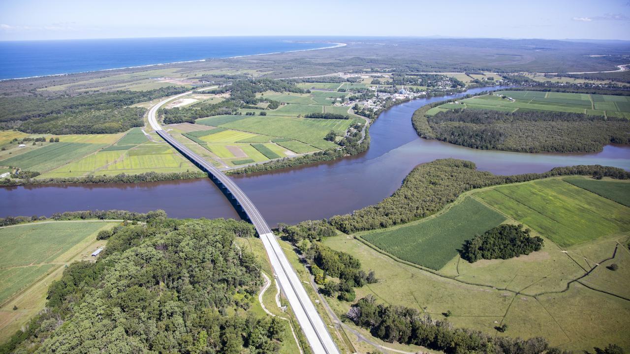Bridge over the Richmond River at Broadwater
