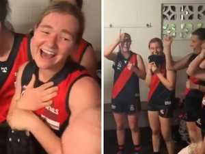 'Brilliant': Women's AFL team song goes viral