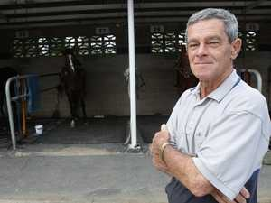Condition update on injured racehorse trainer
