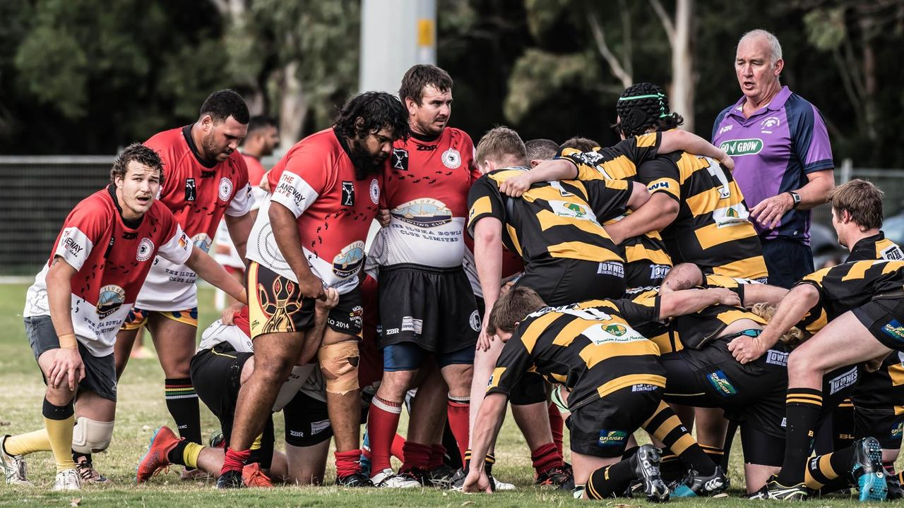 Iluka Cossacks Presidents Cup side in action during the 2020 Far North Coast Rugby Union season. Photo: Peter Johnson