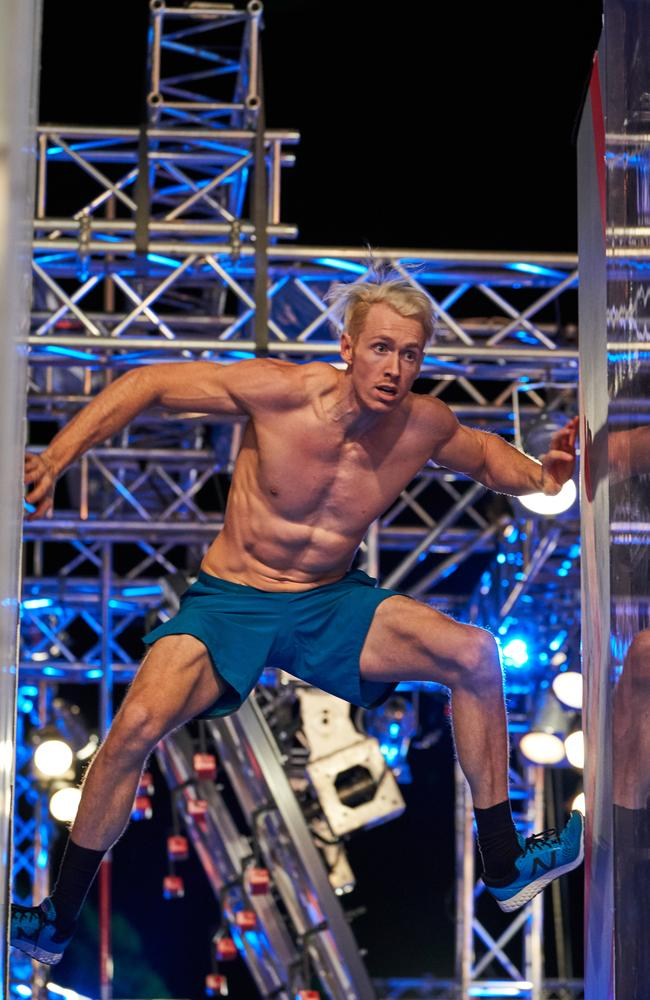 Ben Polson competes on Australian Ninja Warrior: Picture: supplied/ Channel 9