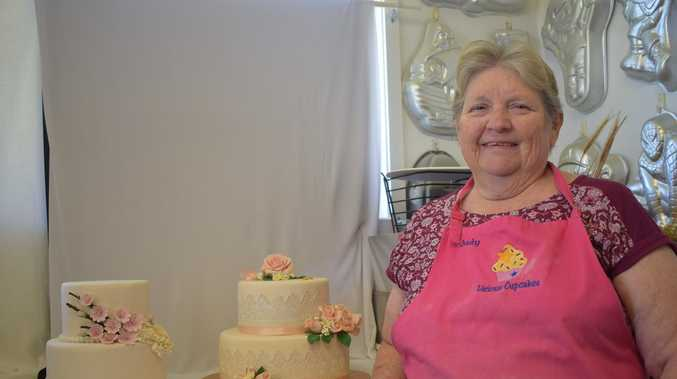 Cake maker humbled by win after 40 years honing skill