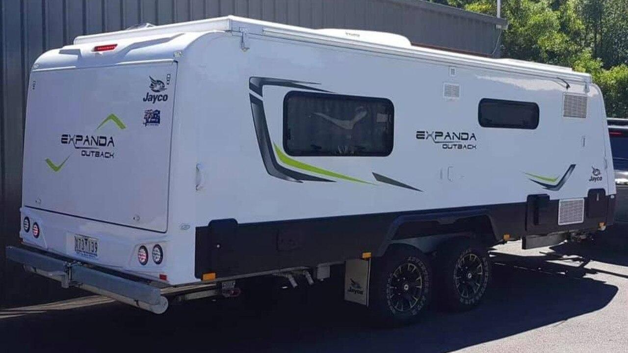 Fraser Coast police need help to find this caravan, stolen from Burrum Heads.