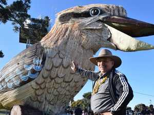 When to expect the giant kookaburra at your town