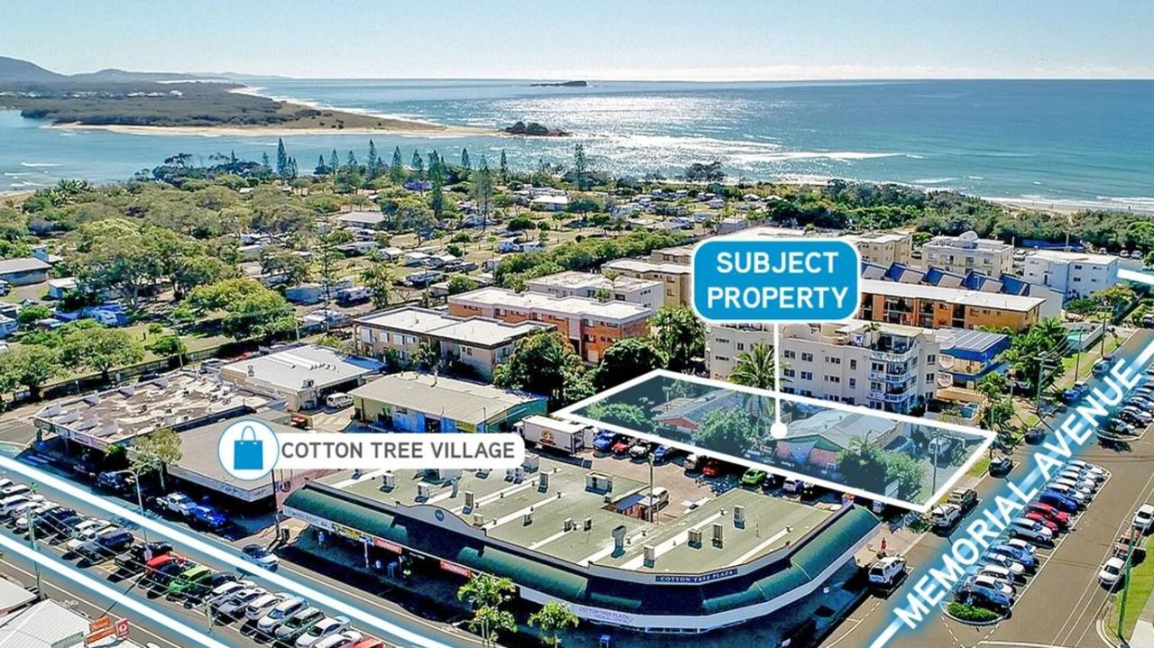14 Memorial Ave, Cotton Tree has hit the market for the first time in decades stirring interest from local and interstate buyers. It is currently home to the Weir's Surf Shop