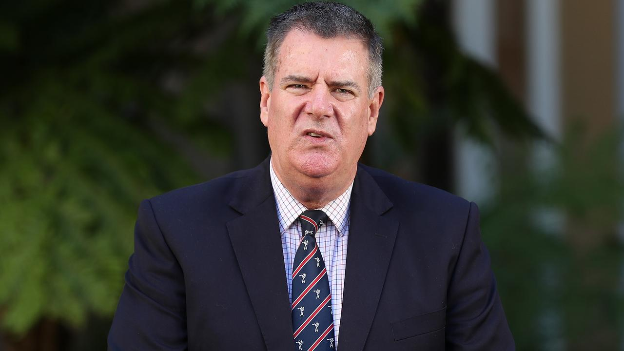 Agricultural Industry Development Minister Mark Furner, Speaker's Green Parliament House, Brisbane. Photographer: Liam Kidston.