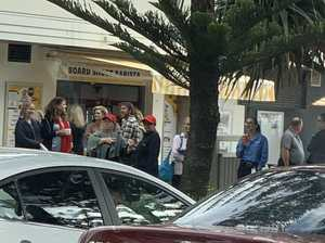 Hundreds evacuated from Coast shopping centre