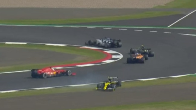 Daniel Ricciardo had a bad day.