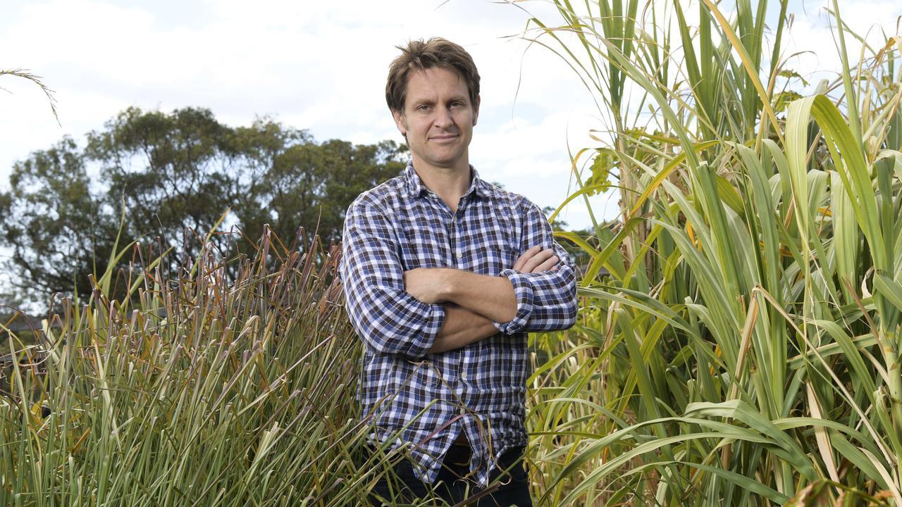 TV host and eco-activist Craig Reucassel believes Noosa's coastal properties are under threat. (AAP IMAGE/Simon Bullard)