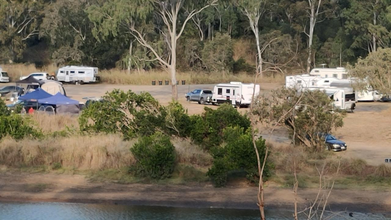 Calliope River free camp. Picture: Rodney Stevens