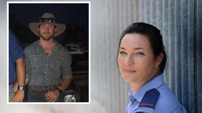 'Held him, kissed him': Firey mum first at son's fatal crash