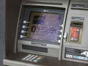 ATM punched after 'eating' man's bank card