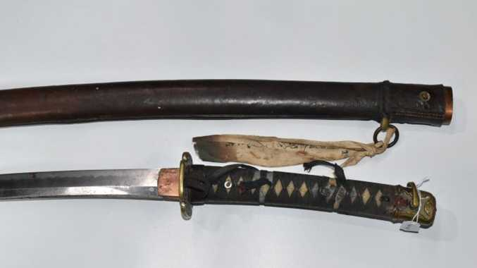 Night on the booze leads to Samurai sword attack