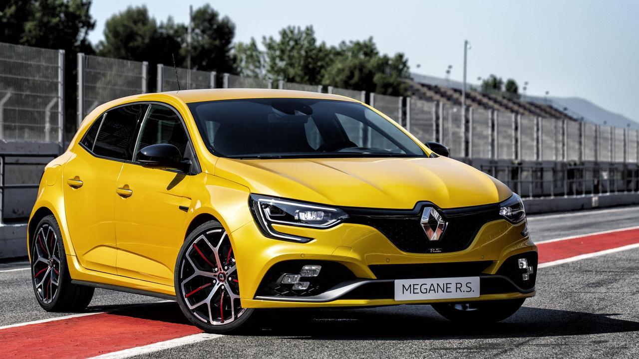 The Megane RS only has one suspension setting.