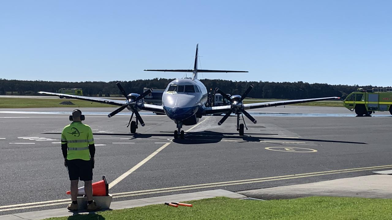 FlyPelican landed its first service between Canberra and Ballina on Friday, July 4.