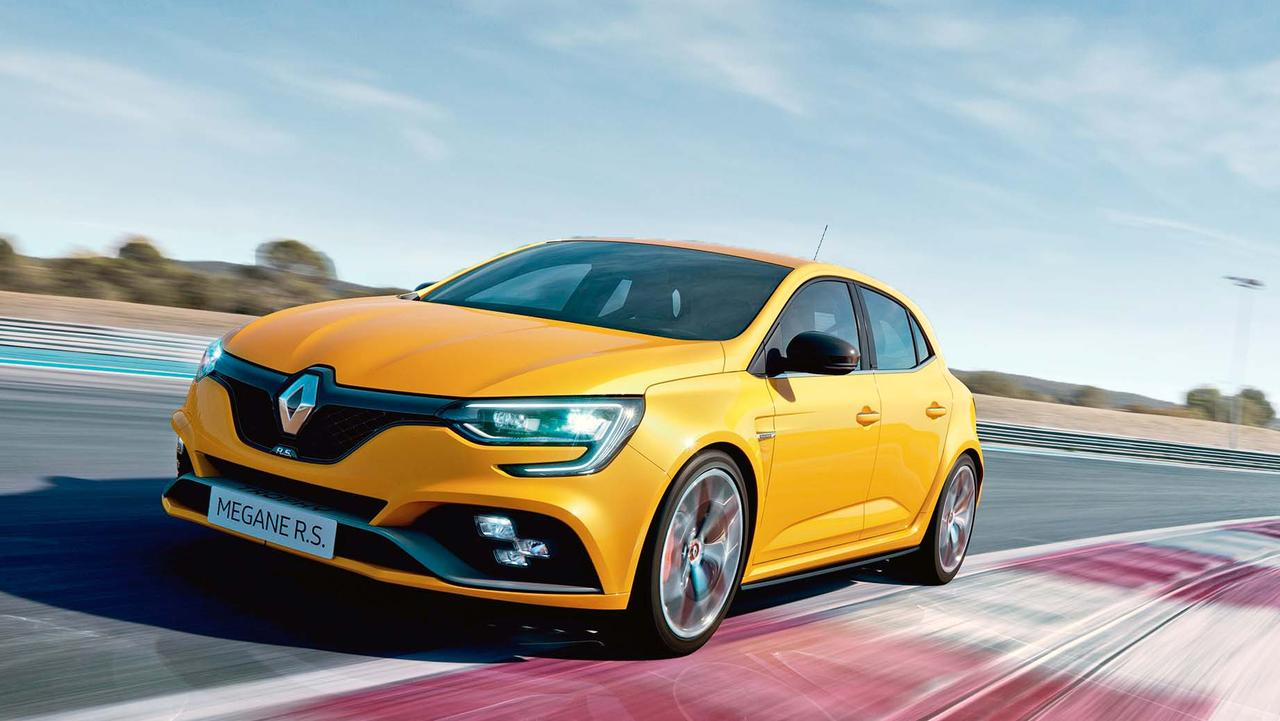A strong 1.8-litre turbo engine powers the Megane RS.