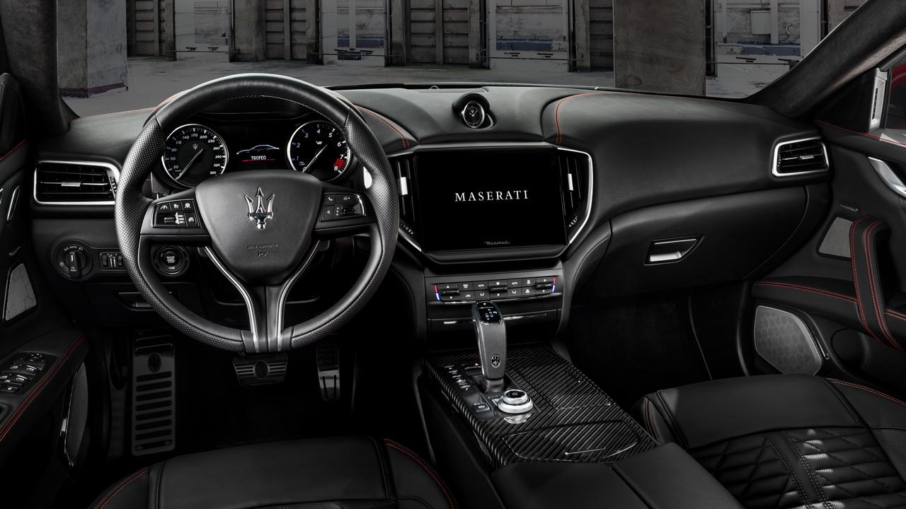 Maserat has also given the interior a makeover.