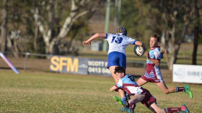 Next-gen footy players overcome season of setbacks