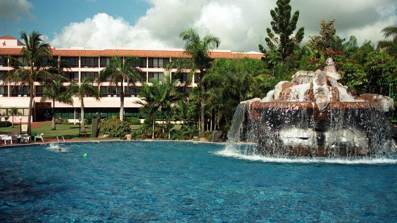 Pool area and accommodation building at Capricorn International Resort Yeppoon Pic Philip/Norrish 09 Feb 1998.