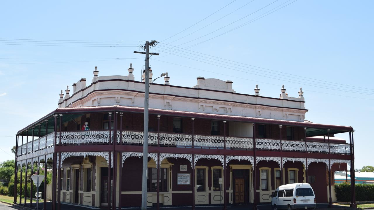 O'Mahony's Hotel, formerly known as the Nash.