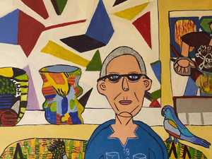 Zion's second brush with $100,000 Archibald Prize