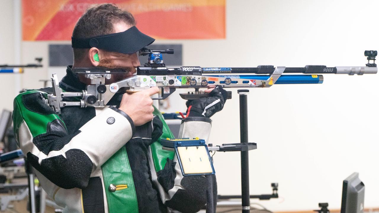 Coominya shooter Dane Sampson is preparing for his third Olympic Games.