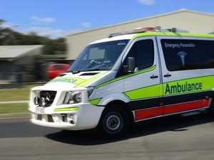 Paramedics rush to major roundabout after crash