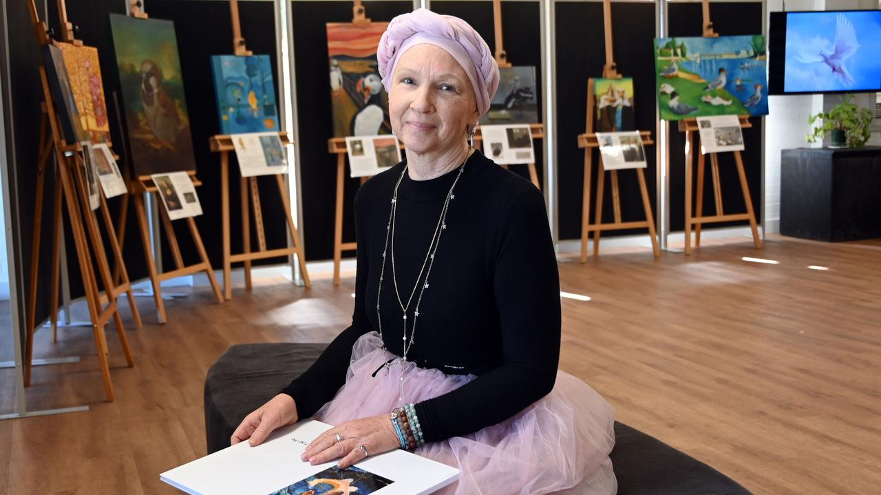 TAKE FLIGHT: Toowoomba Grammar School art teacher Leanne Penberthy has self-published a unique coffee table book to help motivate others facing their own difficult journeys.