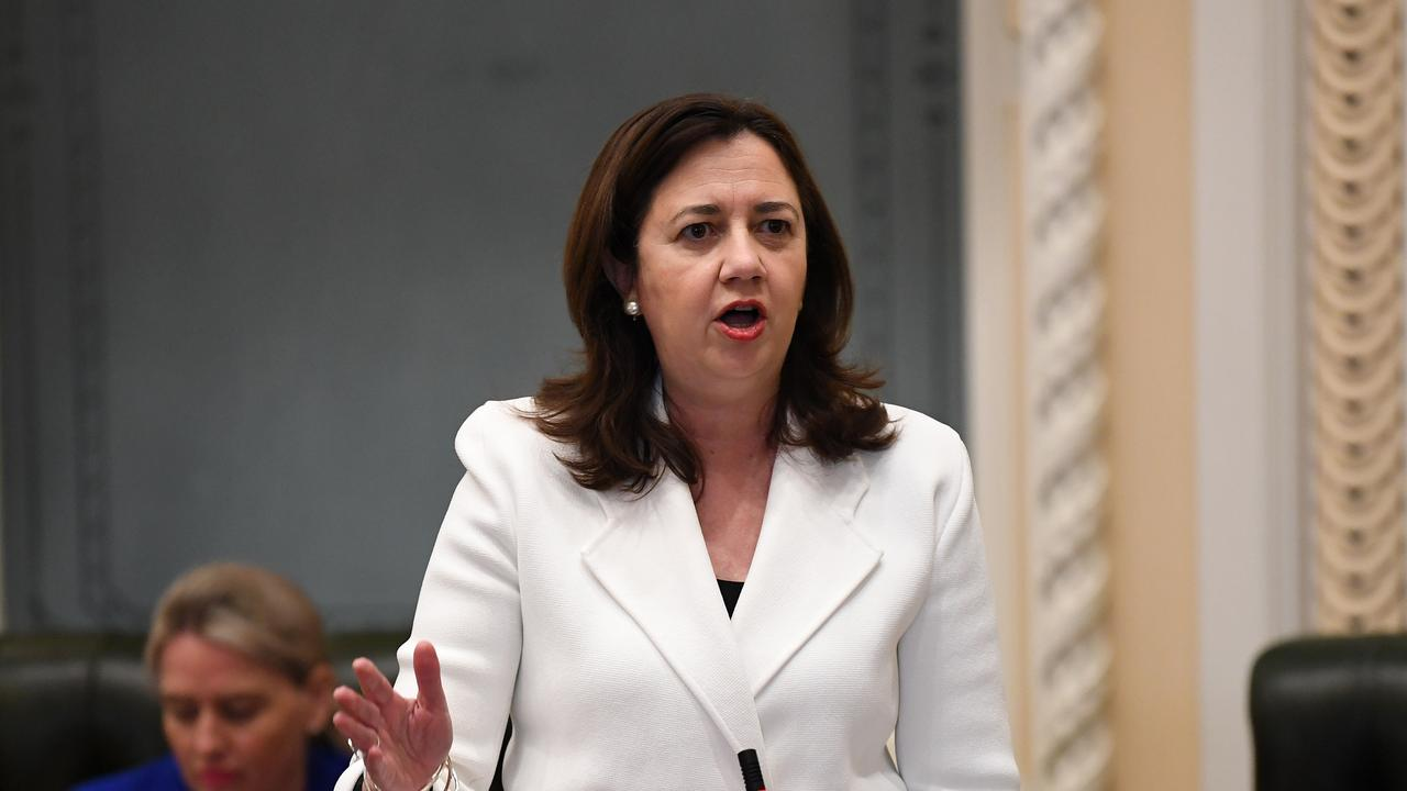 Nine projects in Ipswich and the Scenic Rim will receive funding to the tune of $8 million from the State Government. Premier Annastacia Palaszczuk.
