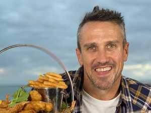 Why popular cricketer, Survivor star was in Hervey Bay