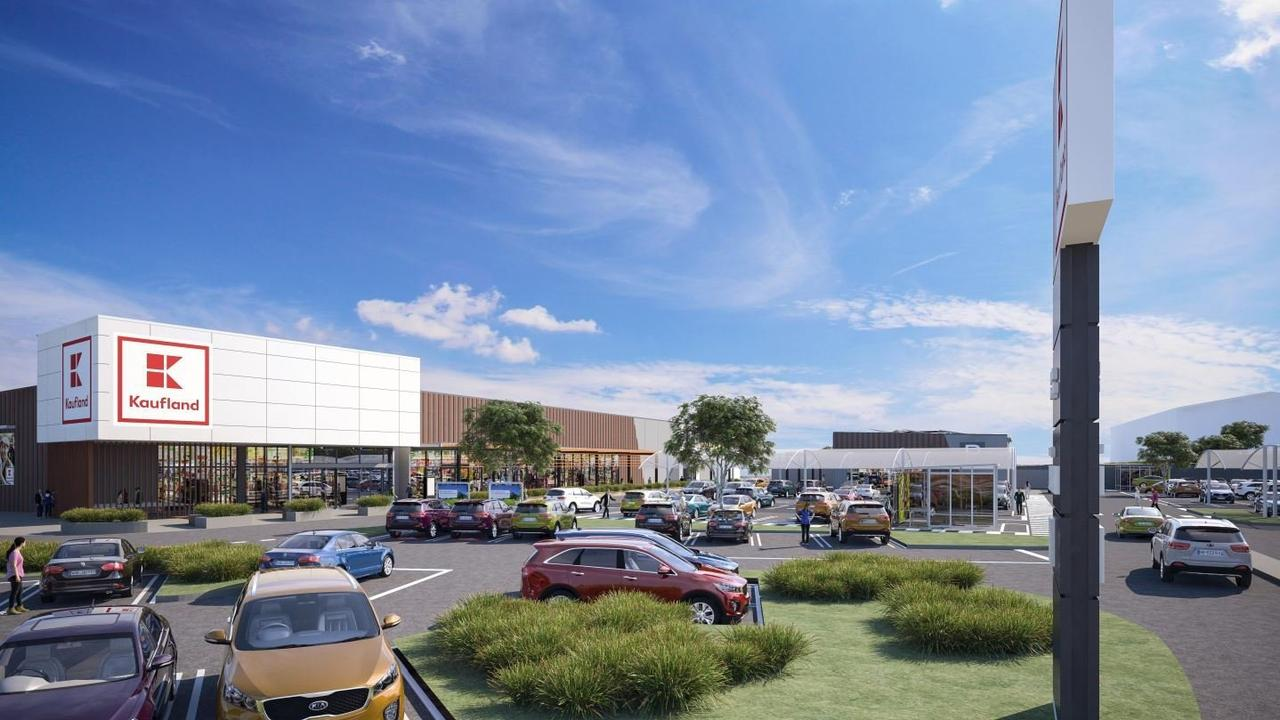 Artist impression of what the Toowoomba Kaufland store would have looked like.