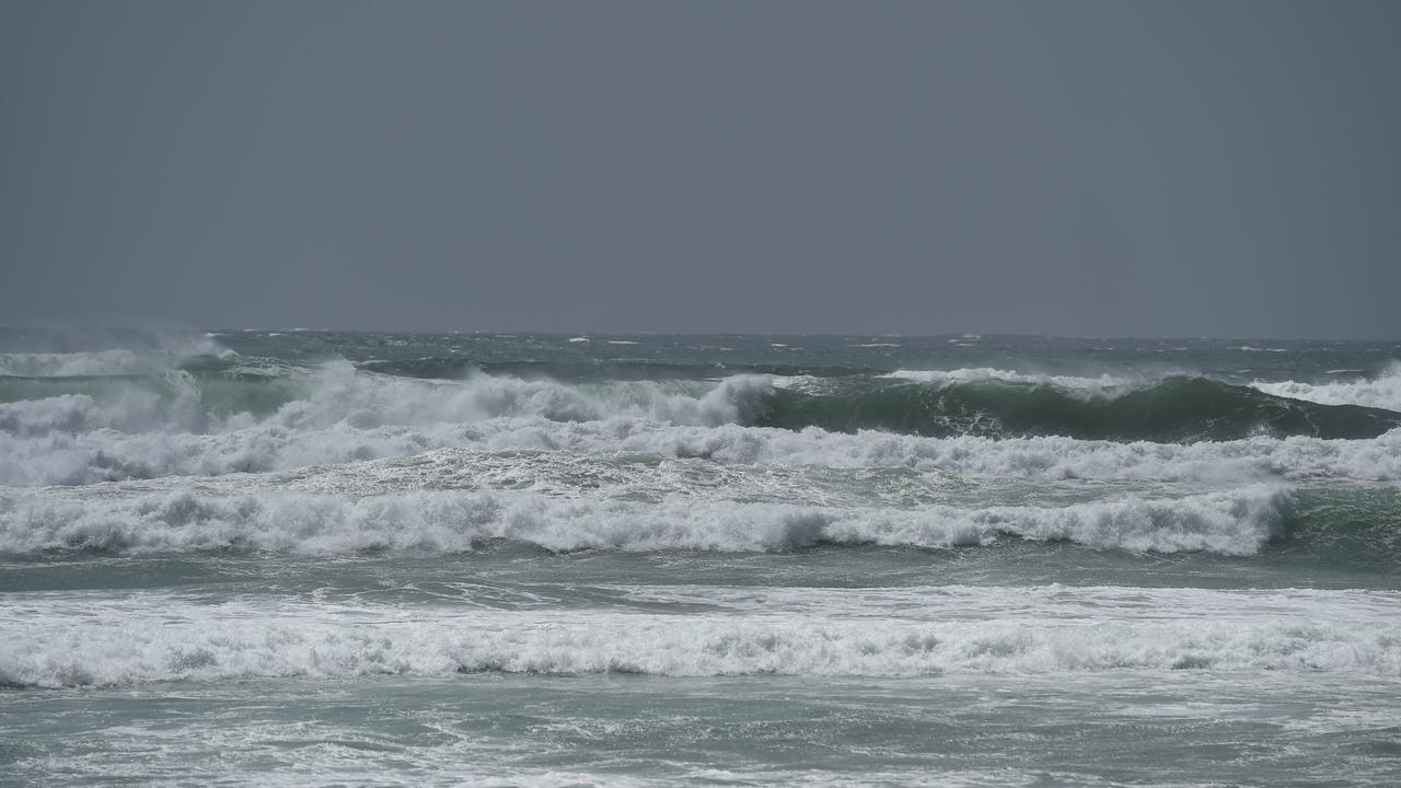 Hazardous beach conditions at Seven Mile Beach, Lennox Head.