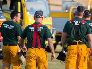 Volunteer firies 'left in the lurch'