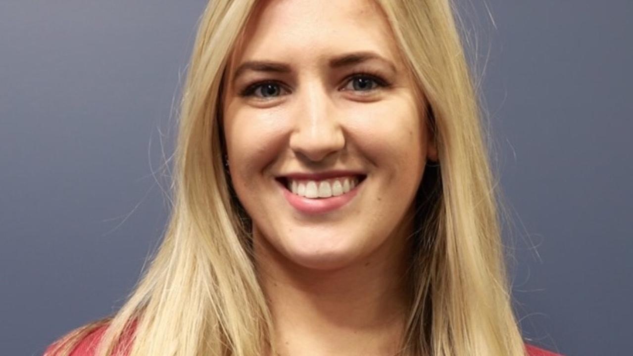 CQUniversity Oral Health student Chloë Benedickter.