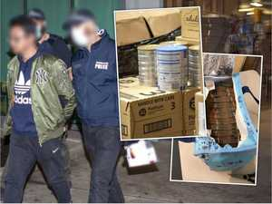 'Dirty' cash: Cops seize $1.2m in Chinese shopper raid