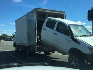 Mystery of cartoon-like truck baffles locals