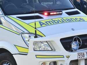 Two-vehicle, motorbike smash leaves person injured