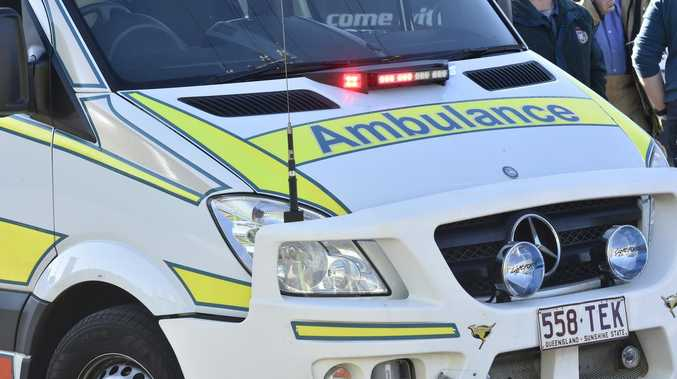 Two-vehicle, motorbike smash leaves person injured