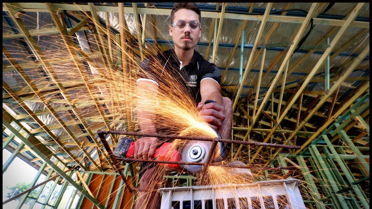 Seven apprentices will get a chance to launch their trade career in the South Burnett. Photo: Jamie Hanson