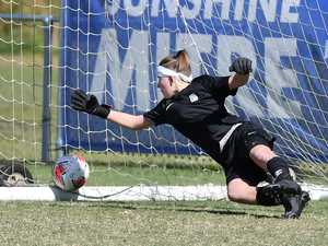 SOCCER: Girls Chancellor State College V Kelvin
