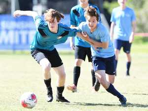 SOCCER: Kawana Waters State College V Chancellor