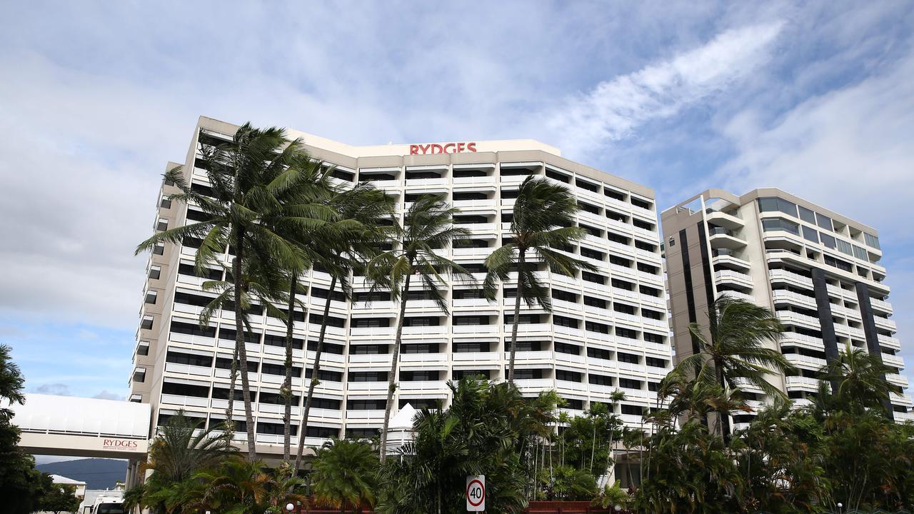 Rydges hotel on the Cairns Esplanade. PICTURE: BRENDAN RADKE