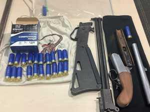 Man allegedly found with shotgun, drugs and ammunition