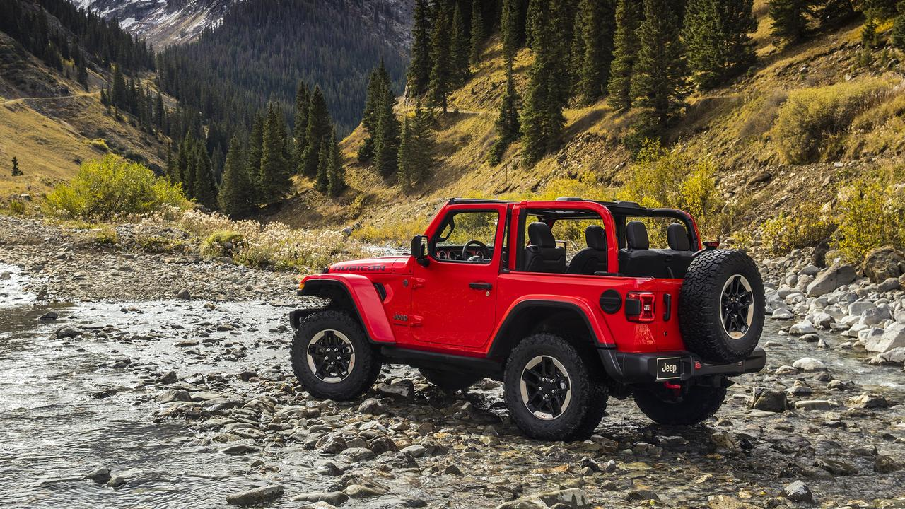 2020 Jeep Wrangler two-door.
