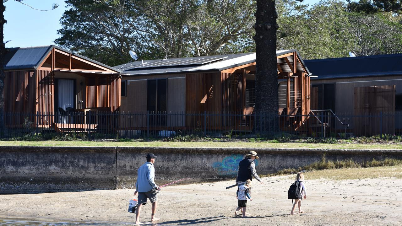 Reflections Holiday Park at Evans Head.